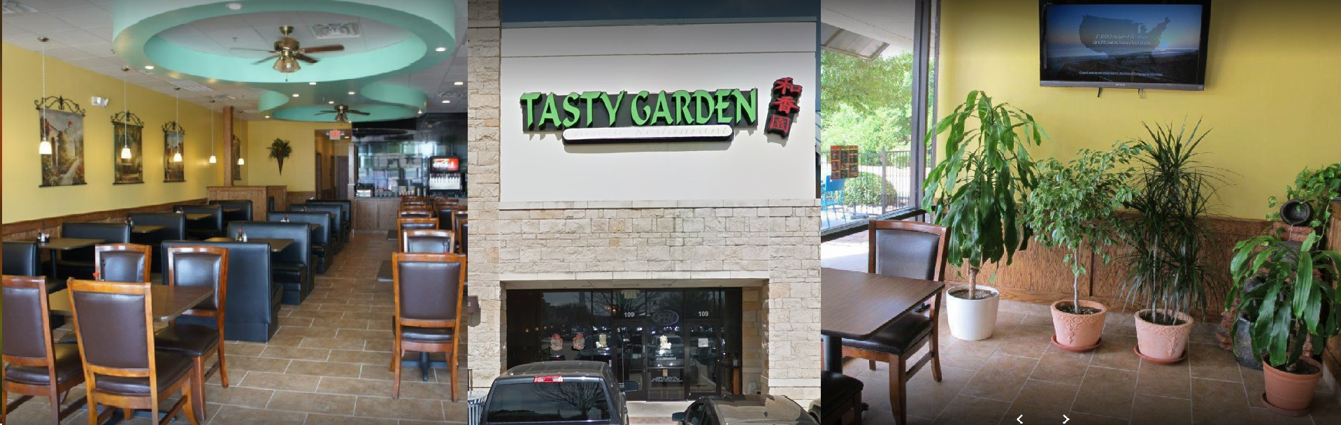 Your Favorite Chinese Food At Tasty Garden Restaurant